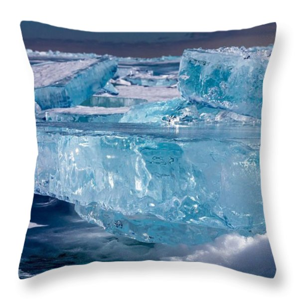 Jewels Of Superior Throw Pillow by Mary Amerman