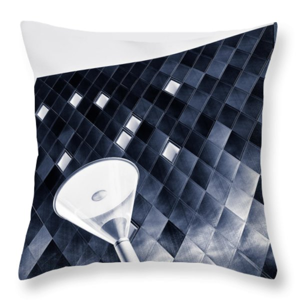 Jewish Museum Throw Pillow by Dave Bowman