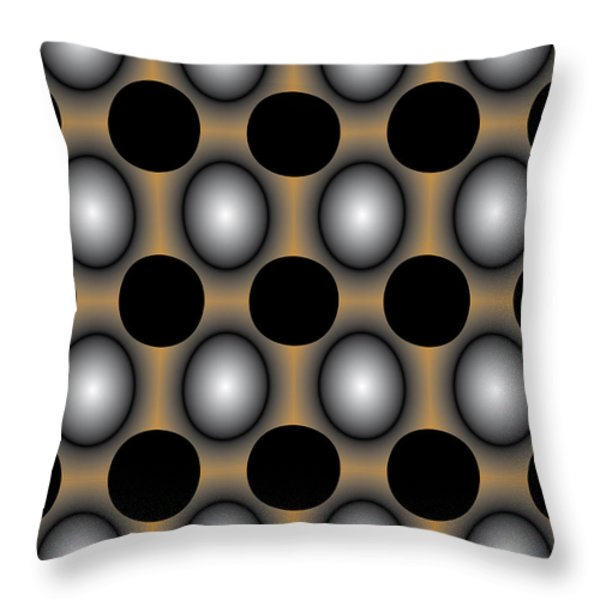 JigDot Abstract One Throw Pillow by Emma Smith