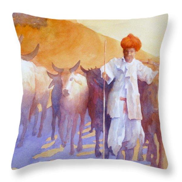 Jihad Throw Pillow by George Harth