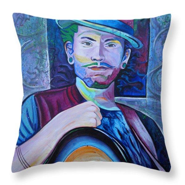 John Butler Throw Pillow by Joshua Morton