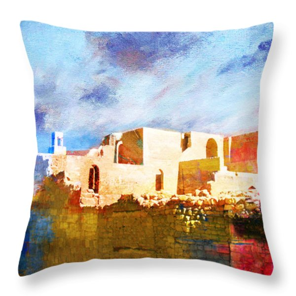 Jordan 02 Throw Pillow by Catf