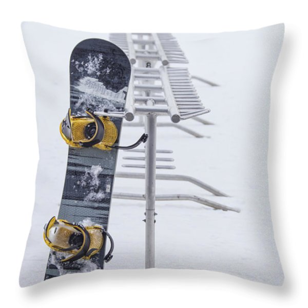 Joyride Throw Pillow by Evelina Kremsdorf