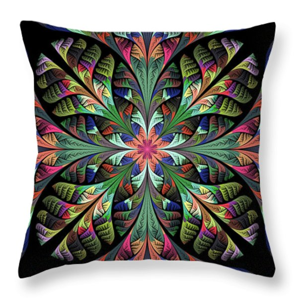 Julia Throw Pillow by Sandy Keeton