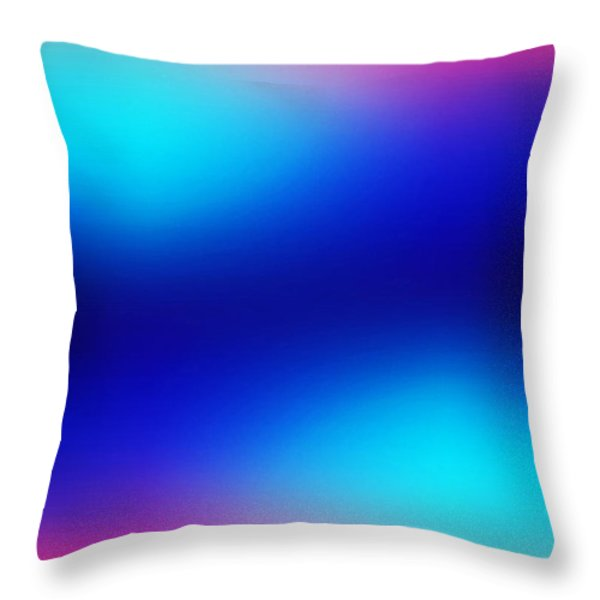 Jumps Throw Pillow by Revad David Riley