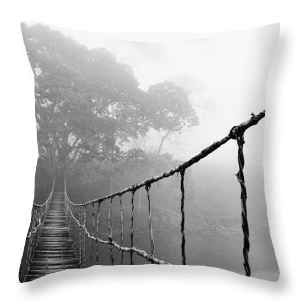 Jungle Journey 5 Throw Pillow by Skip Nall