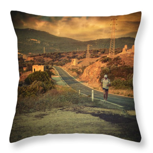 Just a dream Throw Pillow by Taylan Soyturk
