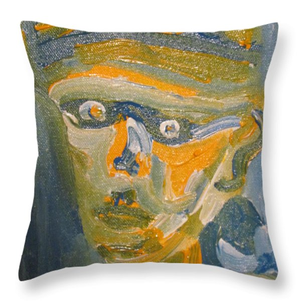 Just another Face Throw Pillow by Shea Holliman