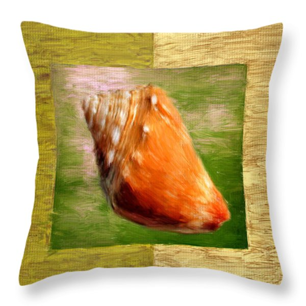 Just Beachy Throw Pillow by Lourry Legarde