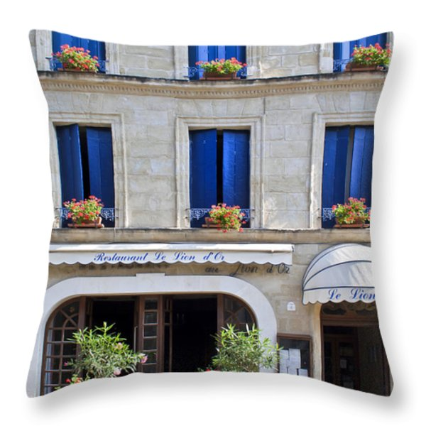 Just Before Lunch Throw Pillow by Nomad Art And  Design
