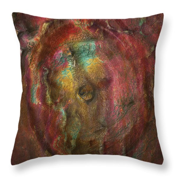 Just Below Throw Pillow by Jack Zulli