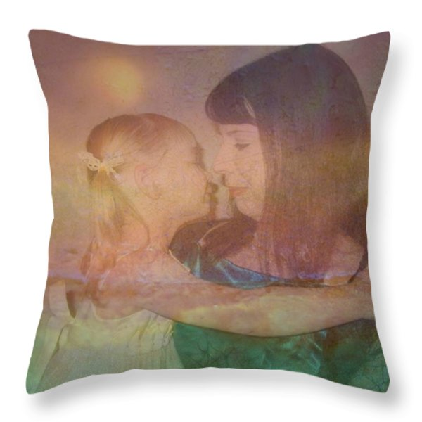 Just Love Throw Pillow by Shirley Sirois