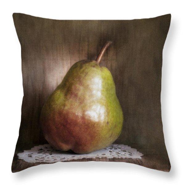 Just One Throw Pillow by Priska Wettstein