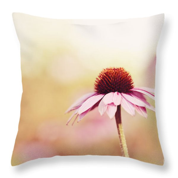 Just Peachy Throw Pillow by Reflective Moment Photography And Digital Art Images