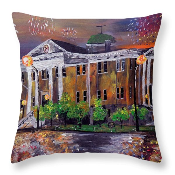 Justice Served  Throw Pillow by Mark Moore