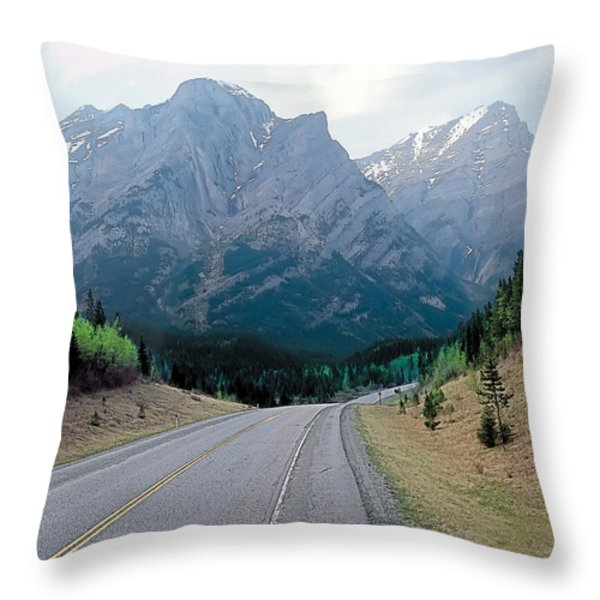 K Country 2 Throw Pillow by Terry Reynoldson
