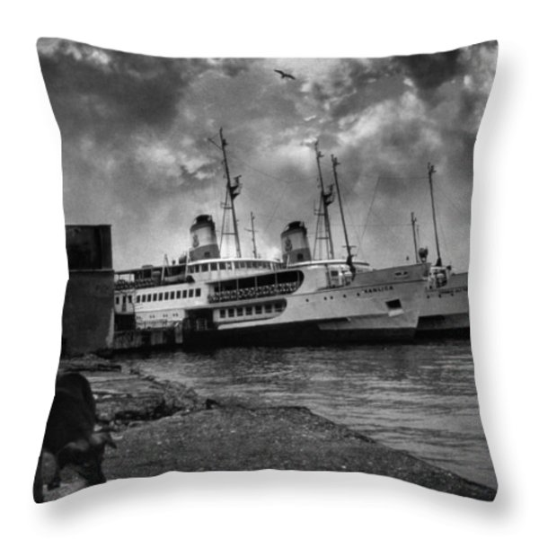 Kanlica Throw Pillow by Taylan Soyturk