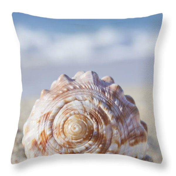 The Heart of Wonder Throw Pillow by Sharon Mau