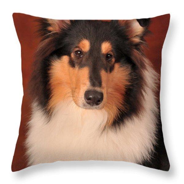 Karma 1 Throw Pillow by Randi Grace Nilsberg