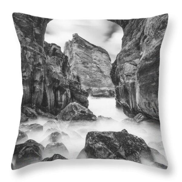 Kehole Arch Throw Pillow by Darren  White