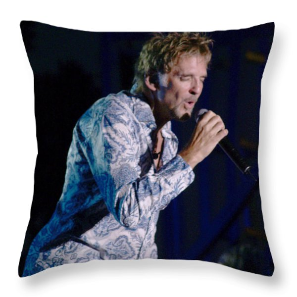 Kenny Loggins II Throw Pillow by Bill Gallagher