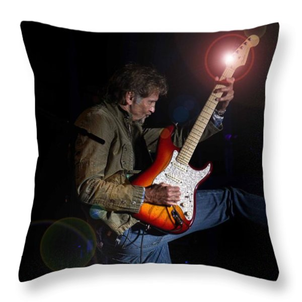 Kenny Loggins III Throw Pillow by Bill Gallagher