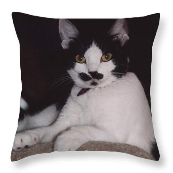 Kera Throw Pillow by Kathleen Struckle