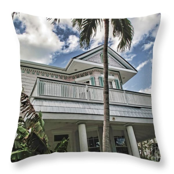 Key West Dreaming Throw Pillow by Joan  Minchak