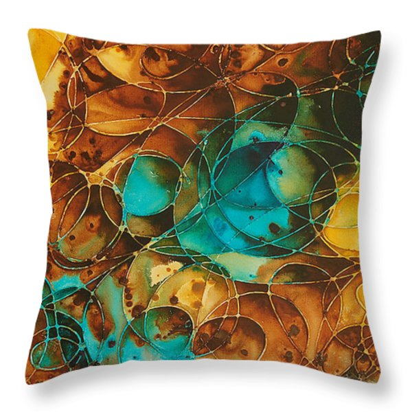 Kin Dred Souls Throw Pillow by Sharon Cummings