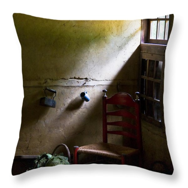 Kitchen Corner Throw Pillow by Dave Bowman
