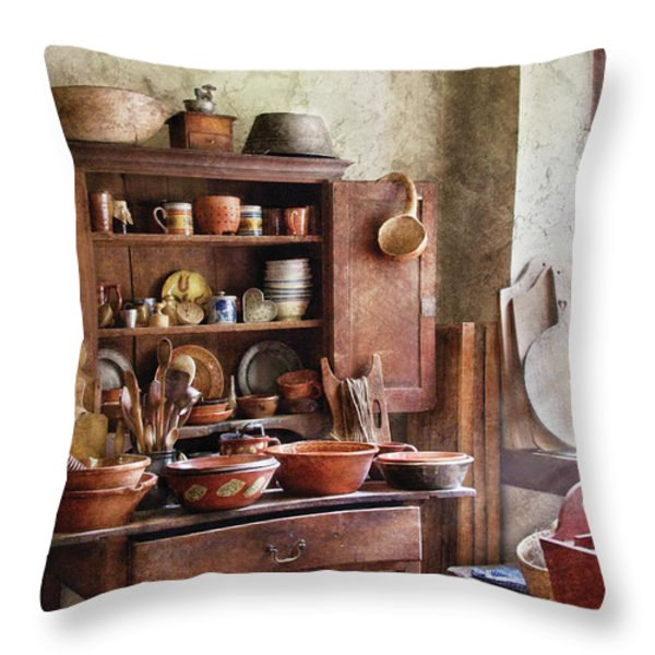 Kitchen - For the Master Chef  Throw Pillow by Mike Savad