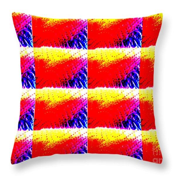 Kitchen Roll Pop Art  Throw Pillow by Martin Howard
