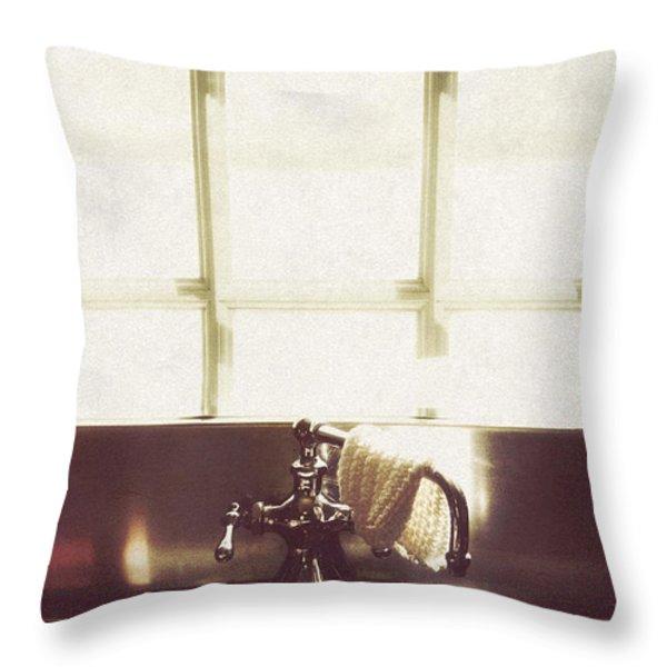Kitchen Sink Throw Pillow by Margie Hurwich