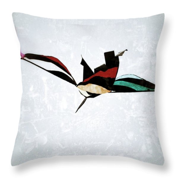 Kite Throw Pillow by Jim Nelson