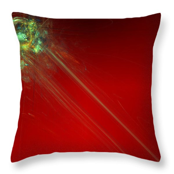 Know It All Throw Pillow by Jeff Iverson