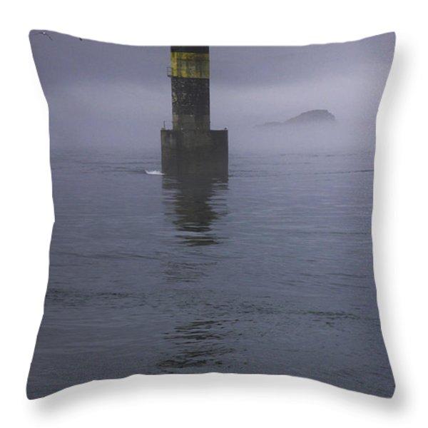 La Balise Throw Pillow by Sophie De Roumanie