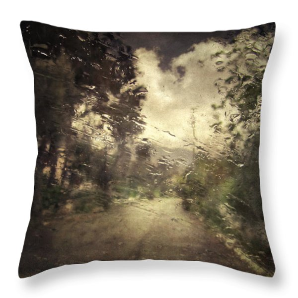 La Pluie 4.45 Throw Pillow by Taylan Soyturk