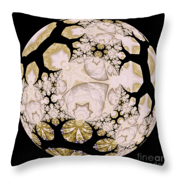 Lace Throw Pillow by Elizabeth McTaggart
