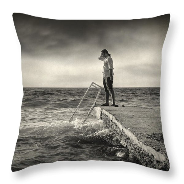 Lack 17.51 Throw Pillow by Taylan Soyturk
