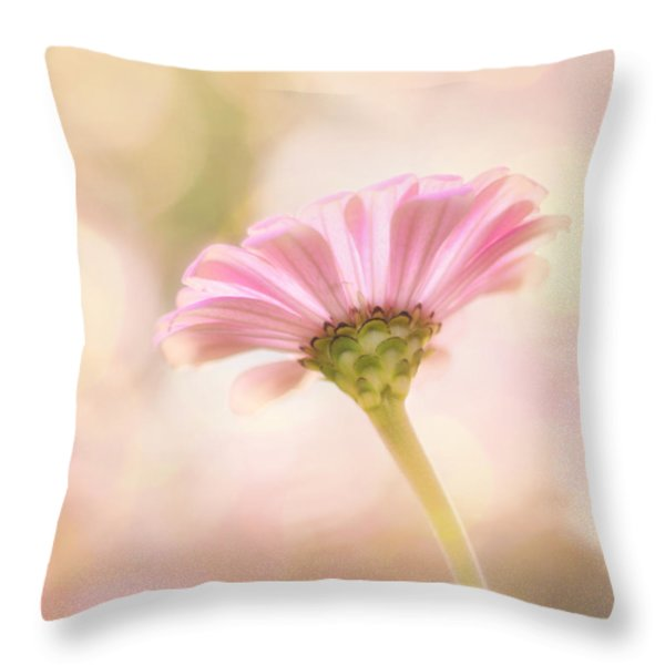 Ladylike Throw Pillow by Amy Tyler
