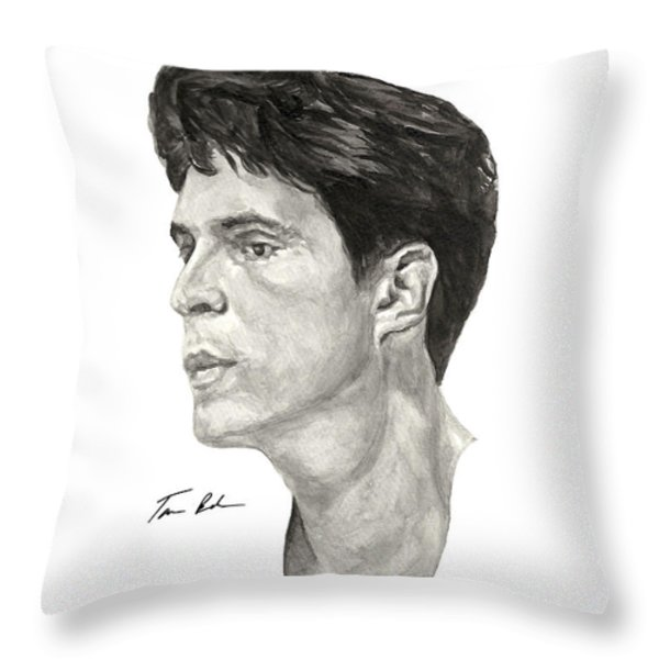 Laettner Throw Pillow by Tamir Barkan