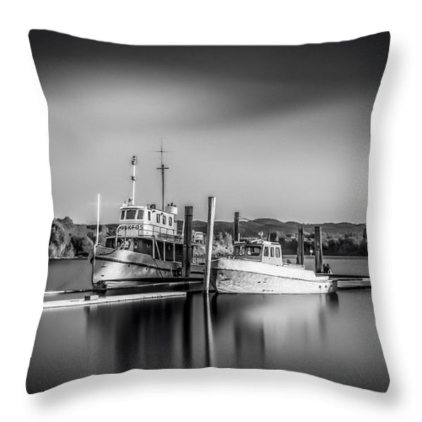 Lake Oyeren Ill Throw Pillow by Erik Brede