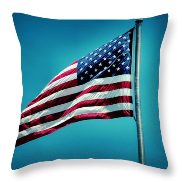 Land of The Free Throw Pillow by Dan Sproul