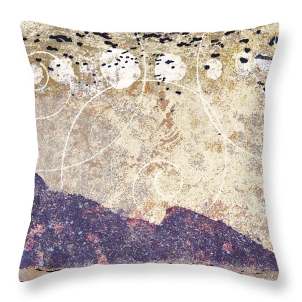 Landfall Throw Pillow by Carol Leigh