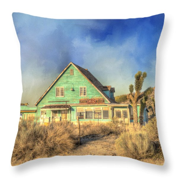 Last Chance Throw Pillow by Juli Scalzi