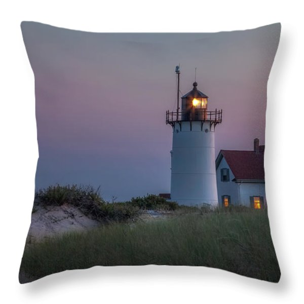 Last Light Throw Pillow by Bill  Wakeley