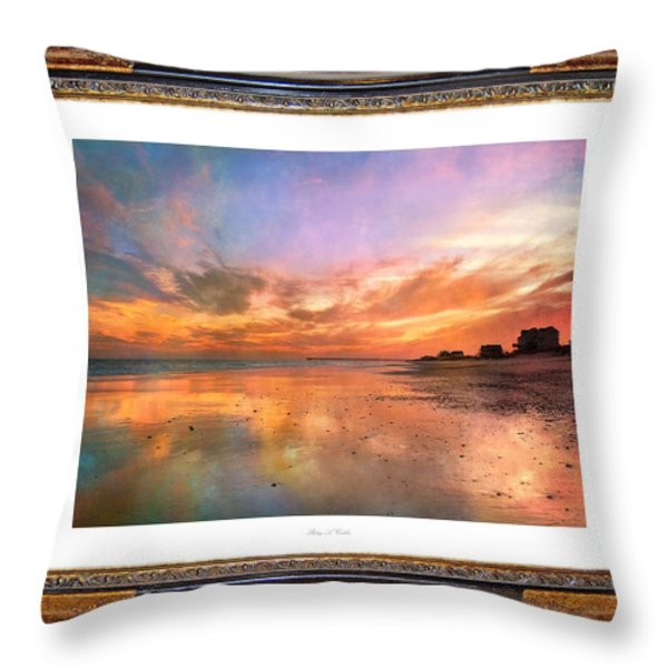 Lasting Moments Throw Pillow by Betsy A  Cutler