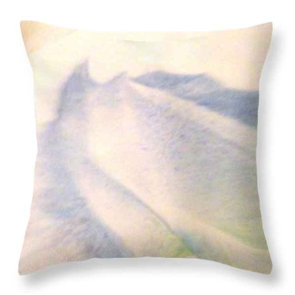 Lay Of The Land Throw Pillow by Mike Breau