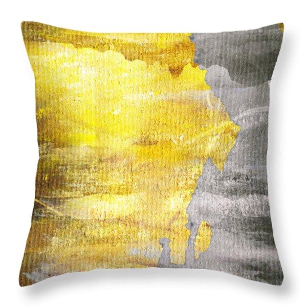 Layers Throw Pillow by Brett Pfister