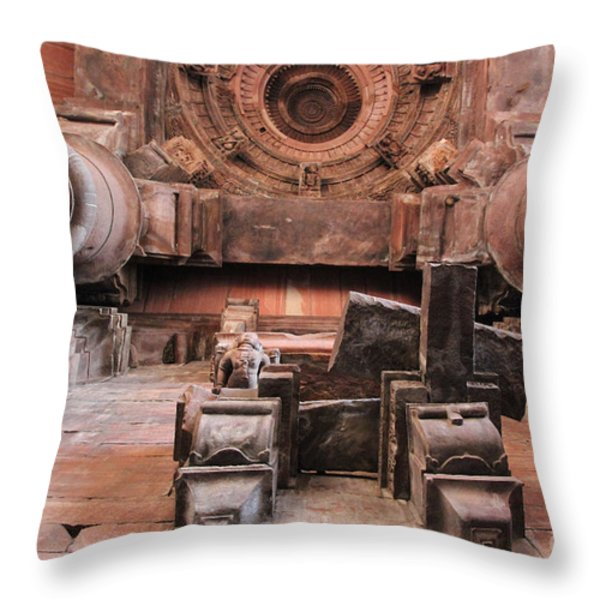 Laying On The Ground And Look Up Throw Pillow by Four Hands Art